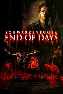 <i>End of Days</i> (film) 1999 American action film directed by Peter Hyams