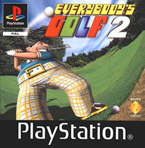 Everybody's Golf 2 - European cover art