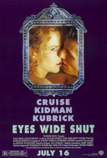 <i>Eyes Wide Shut</i> 1999 British-American drama film directed by Stanley Kubrick