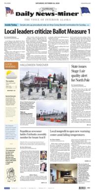 Daily newspaper in Fairbanks, Alaska