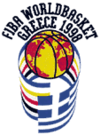 Official logo of the 1998 FIBA World Championship