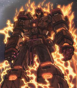 Fallen (Transformers) - The Fallen in Dreamwave's War Within comics.