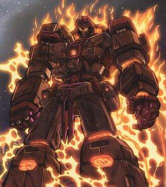 Fallen (Transformers) - The Fallen in Dreamwave's War Within comics.