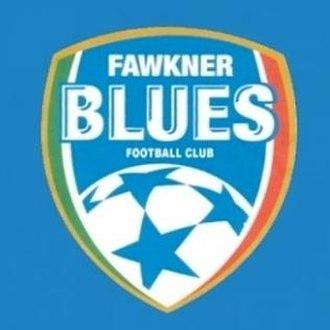 Manningham United FC - Image: Fawkner Blues Logo