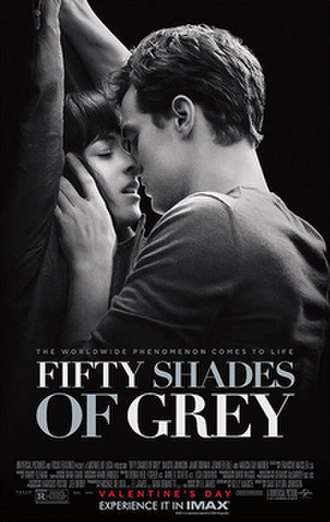 Fifty Shades of Grey (film) - Theatrical release poster