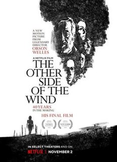 <i>The Other Side of the Wind</i> film directed by Orson Welles