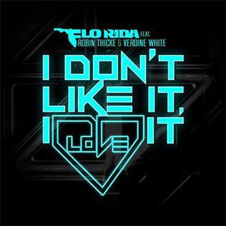 Flo Rida featuring Robin Thicke and Verdine White — I Don't Like It, I Love It (studio acapella)