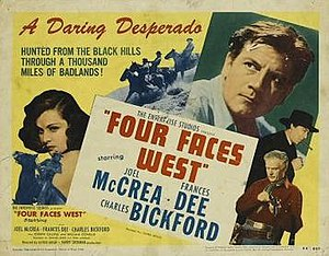Four Faces West - Image: Four Faces West Film Poster