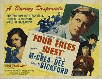 Four Faces West - Image: Four Faces West Film Poster