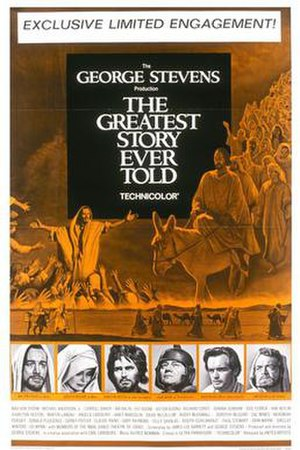 The Greatest Story Ever Told - Theatrical release poster
