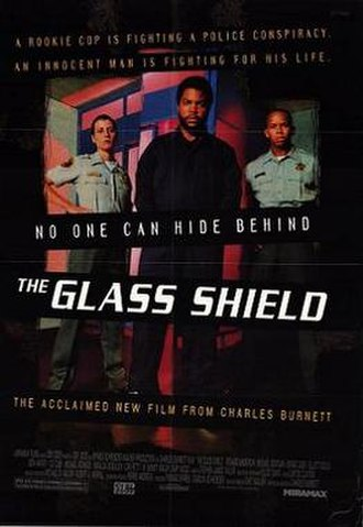 The Glass Shield - Theatrical releaseposter