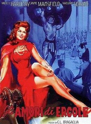 The Loves of Hercules - Original movie poster