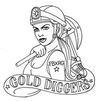 Fairbanks Rollergirls - Image: Gold diggers