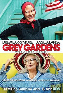 <i>Grey Gardens</i> (2009 film) 2009 HBO film directed by Michael Sucsy