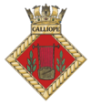 HMS Calliope badge.png