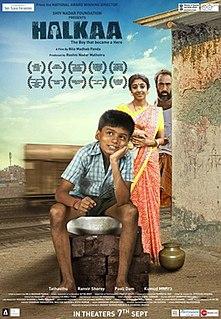<i>Halkaa</i> 2018 Indian film directed by Nila Madhab Panda