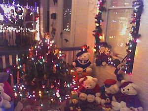 Miracle on 34th Street (Baltimore) - Image: Hampden Teddy Bears