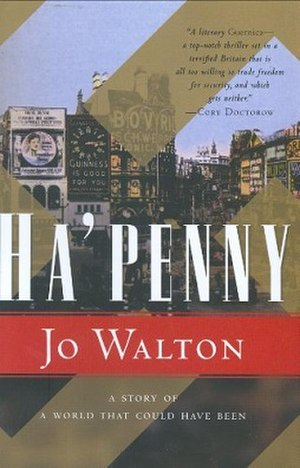 Ha'penny (novel) - Tor Books hardcover