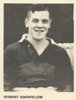 Herbert Goodfellow England international rugby league footballer