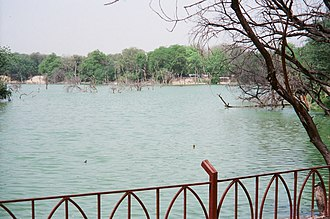 Hauz Khas Complex - The Hauz Khas or the Royal Tank as revived now