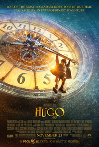 Hugo (film) - Theatrical release poster