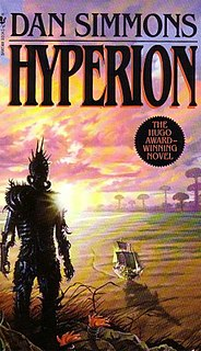 Hyperion Cantos science fiction book series by Dan Simmons