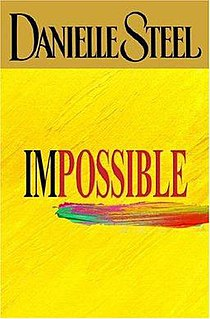 <i>Impossible</i> (novel) novel by Danielle Steel