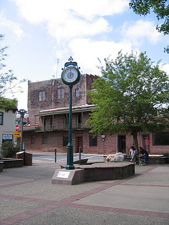 Jackson, California - Memorial Clock