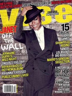 <i>Vibe</i> (magazine) American music and entertainment magazine