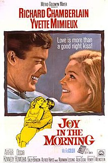 <i>Joy in the Morning</i> (film) 1965 film directed by Alex Segal