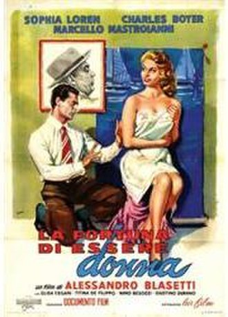 Lucky to Be a Woman - Film poster