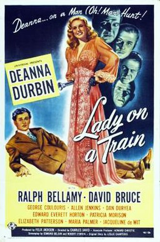 Lady on a Train - Image: Lady on a Train 1945 Poster