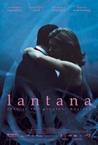 Lantana (film) - Theatrical release poster