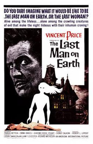 The Last Man on Earth (1964 film) - Theatrical release poster