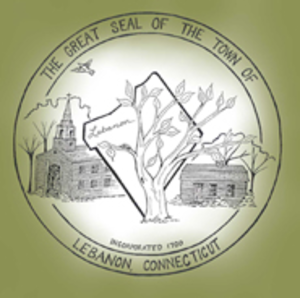 Lebanon, Connecticut - Image: Lebanon CT seal