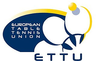 European Table Tennis Union table tennis governing body in Europe