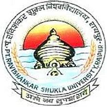 Image result for pandit ravishankar shukla university logo