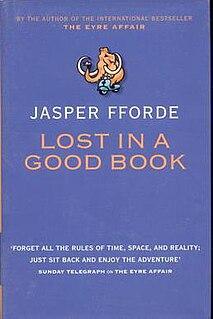 <i>Lost in a Good Book</i> novel by Jasper Fforde