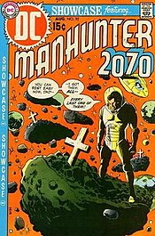 Manhunter 2070, by Mike Sekowsky