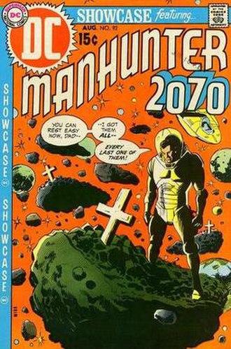 Manhunter (comics) - Manhunter 2070, by Mike Sekowsky