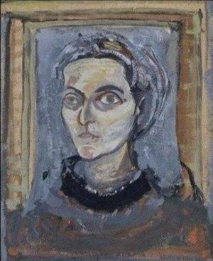 Maria Helena Vieira da Silva - Self-portrait, 1942