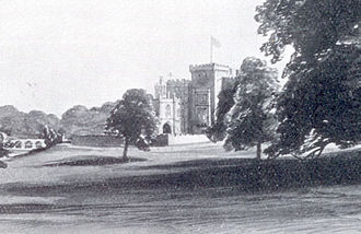 Markree Castle - Sketch from 1860