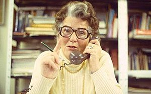 Mary Whitehouse - Mary Whitehouse in 1981