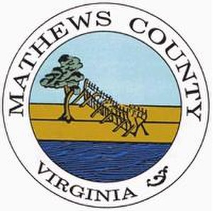 Mathews County, Virginia - Image: Mathews Seal