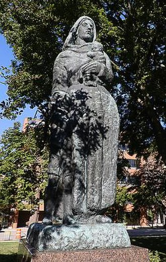 Immigrant Mother - Image: Mestrovic Immigrant Mother 1960