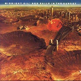Red Sails in the Sunset (album) - Image: Midnight Oil Red Sails
