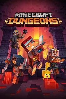 <i>Minecraft Dungeons</i> 2020 dungeon crawler video game
