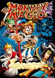 <i>Monkey Magic</i> (TV series) television series