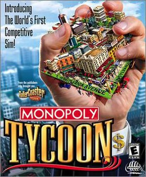 Monopoly Tycoon - Image: Monopoly tycoon cover