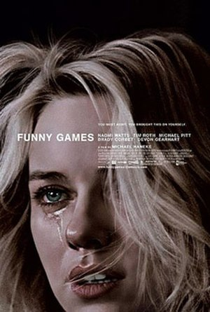 Funny Games (2007 film) - Theatrical release poster